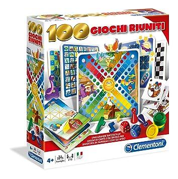 Clementoni 12952 Set De 100 Juegos Reunidos Version En Italiano