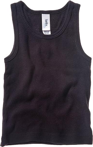 Camiseta de Tirantes de canal/é para beb/é Unisex Bella Canvas
