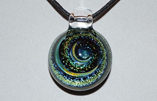 Handblown Glass Clasp Jewelry Supplies Fused Glass Clasp Clasp for Necklace
