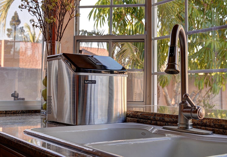Ordinaire Amazon.com: Luma Comfort IM200SS Portable Clear Ice Maker, 28 Pound:  Appliances
