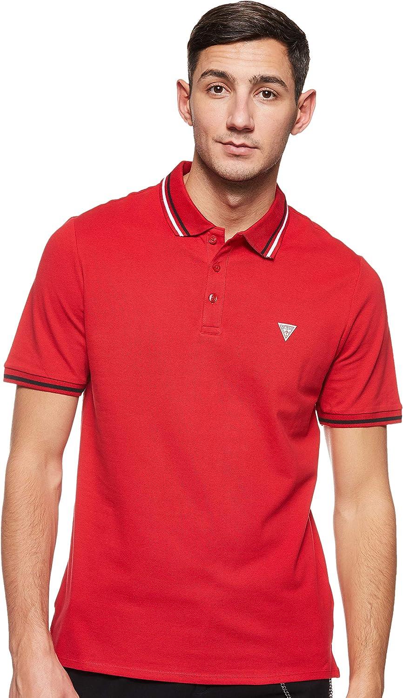 Guess Alfred SS Camisa de Polo para Hombre
