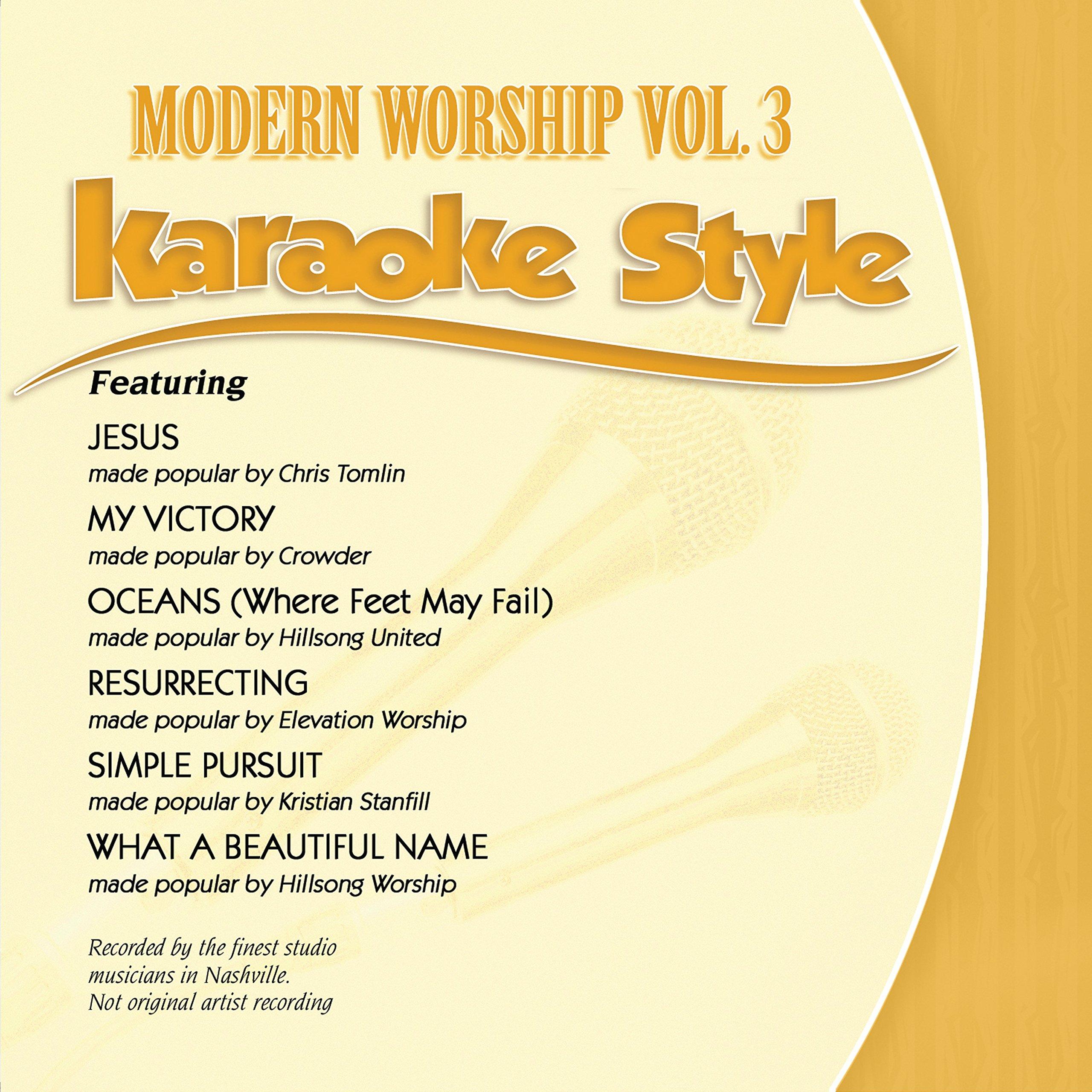 Karaoke Style: Modern Worship Vol. 3 by Daywind