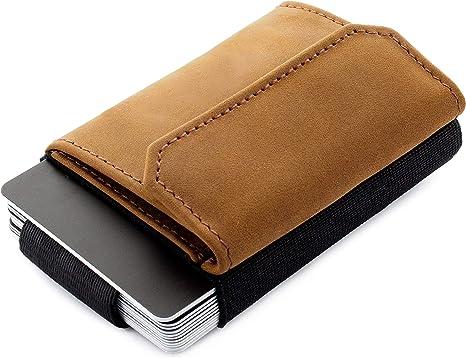 10 cartes 4 ausweisf Cuir Portefeuille Cash-noir Porte-monnaie Portefeuille