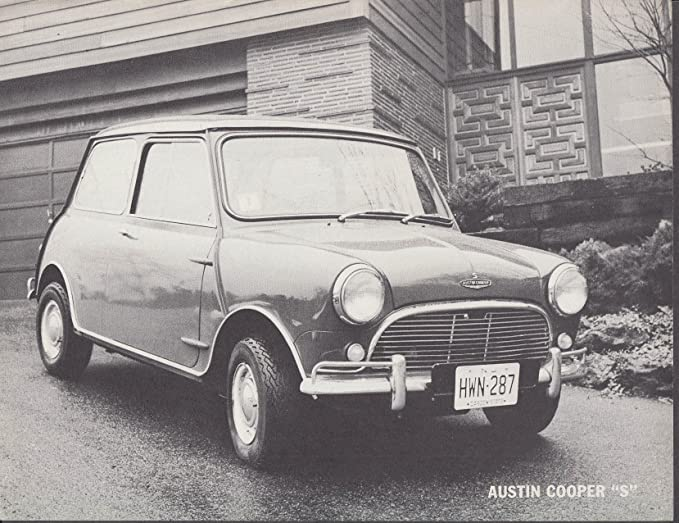 Austin Mini Cooper S Sell Sheet Usa 1965 At Amazons Entertainment