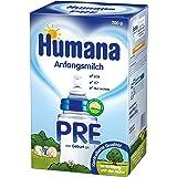 Humana Anfangsmilch Pre mit LCP und GOS, 1er Pack (1 x 700 g)