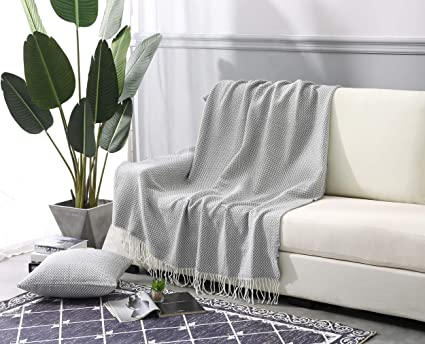 Amazon.com  ALPHA HOME Throw Blanket for Couch Sofa Bed - Free Throw ... 7bf351adc