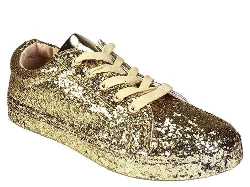 12f1c68e41d4 Amazon.com | BAMBOO Women's Lace-Up Sneaker | Fashion Sneakers