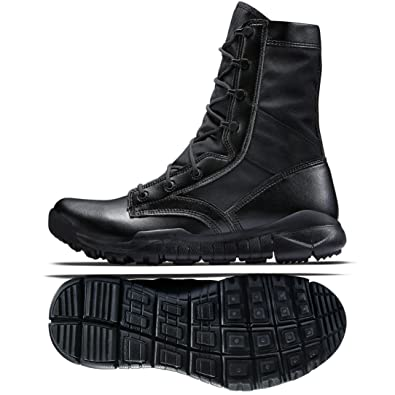 122fc44a4378 Nike SFB 6 quot  329798-002 Black Leather Special Field Tactical Men s Boots  ...