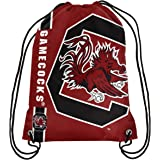 NCAA South Carolina Fighting Gamecocks 2015 Drawstring Backpack, One Size, Red