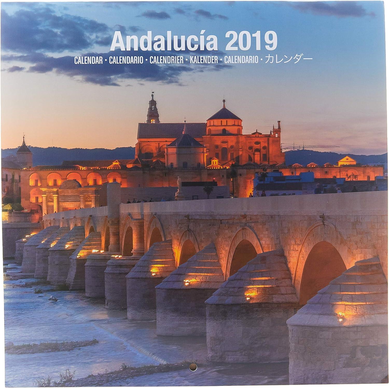 Grupo Erik - Calendario Da Muro 2019 Andalusia 30 X 30 Cm
