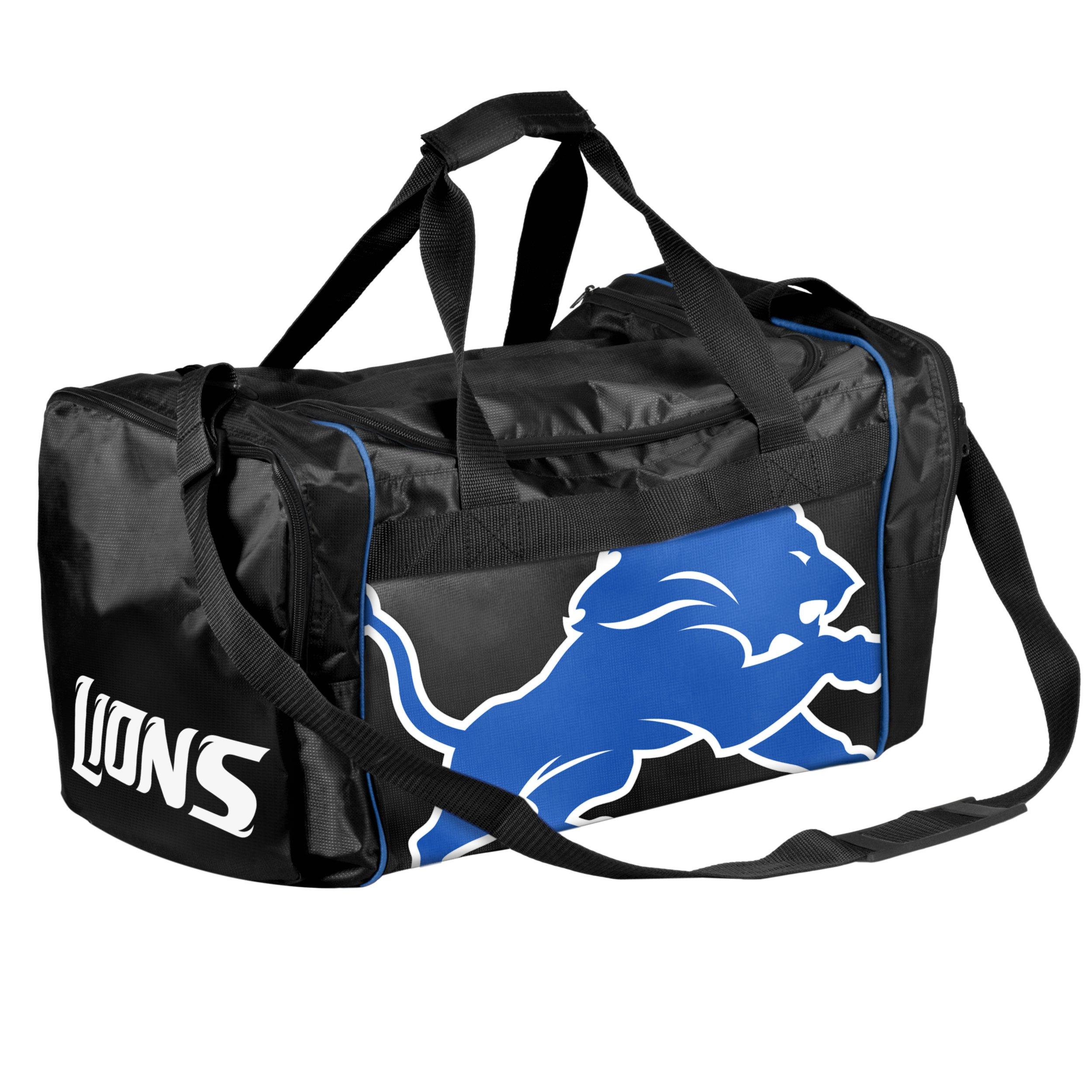 Forever Collectibles NFL Detroit Lions Core Duffle Bag