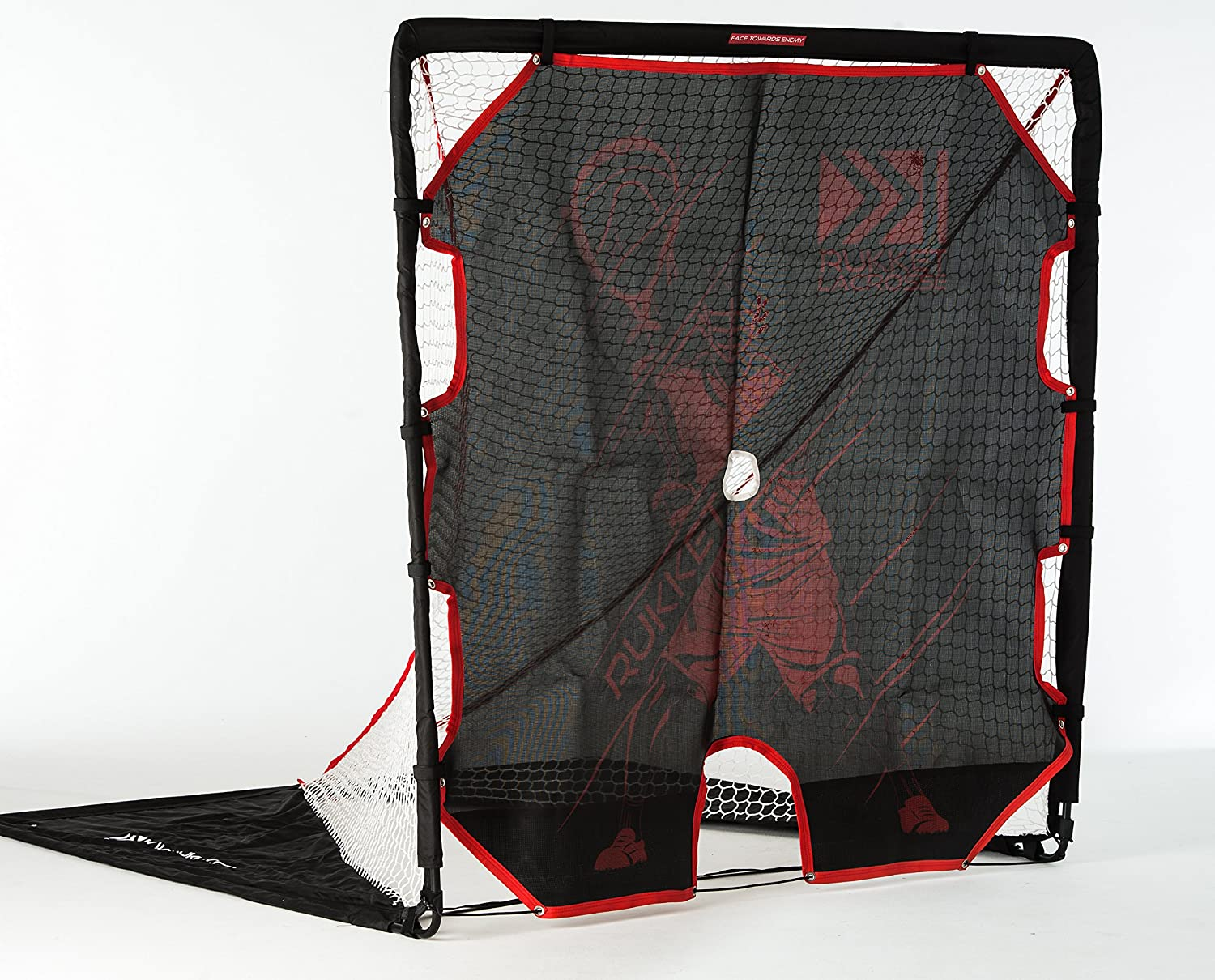 amazon com rukket 2 in 1 package 6x6 lacrosse goal and shot