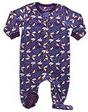 Fleece Sleeper Pajama Storm Purple 4 Years