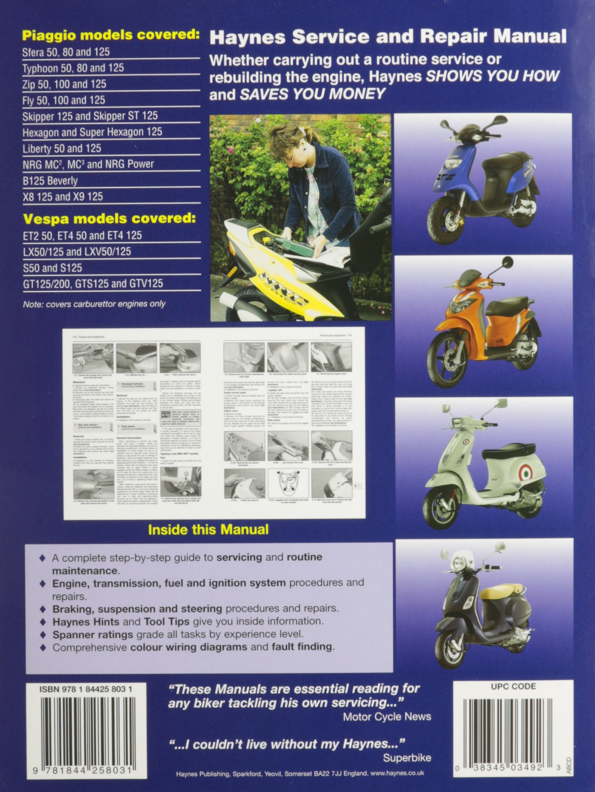 piaggio vespa scooters 1991 2009 service repair manuals piaggio vespa scooters 1991 2009 service repair manuals amazon co uk anon 9781844258031 books