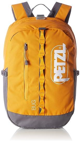 Petzl Adultos Mochila Bug, Color Naranja - Naranja, tamaño 32 × 21 × 1 cm, 18 Liter, Volumen Liters 18.0: Amazon.es: Deportes y aire libre