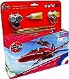 Airfix 1:72 Red Arrow Bae HawkAircraft Category 3 Gift Set