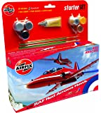 Airfix 1:72 Red Arrow Bae HawkAircraft Category 3 Gift Set