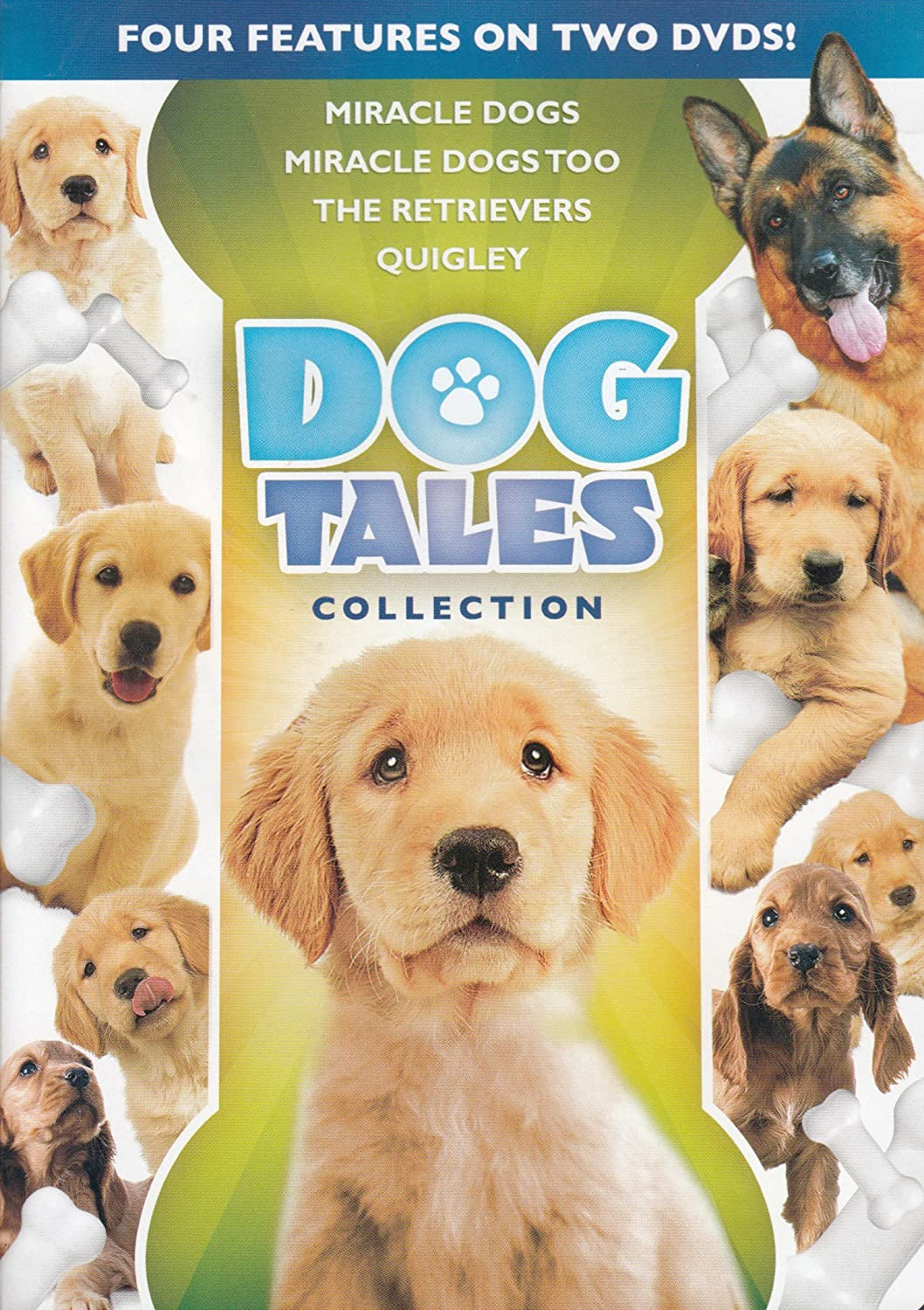 Dog Tales Collection (Miracle Dogs, Miracle Dogs Too, The Retrievers, Quigley)