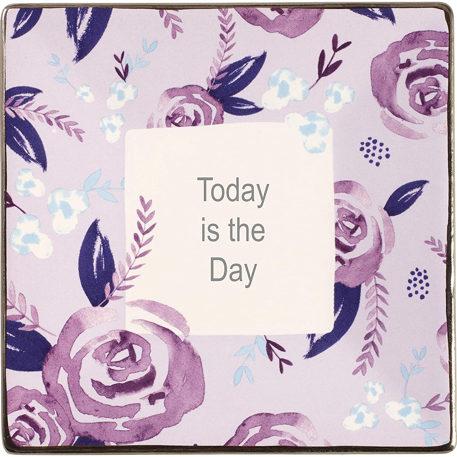 Precious Moments Memories Are Made In Moments Like This Floral Ceramic Photo Frame 182414