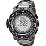 Casio Men's Pro Trek PRW-3500T-7CR Tough Solar Triple Sensor Digital Sport Watch