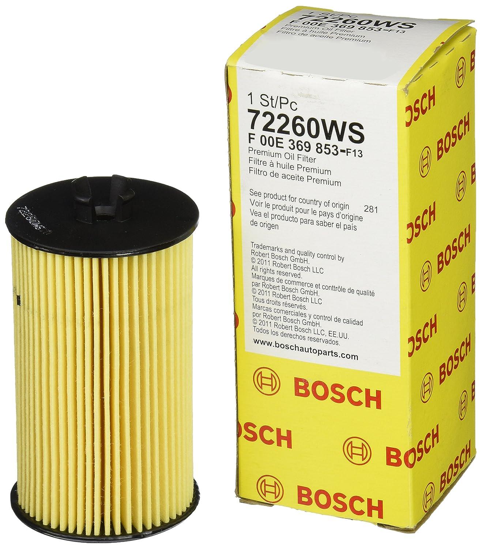 Bosch 72260 WS taller motor filtro de aceite: Amazon.es ...