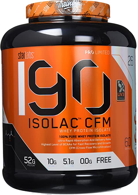 Starlabs Nutrition I90 Isolac CFM Ice Coffee - 1810 gr