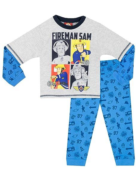 Fireman Sam - Pijama para Niños - Sam el Bombero - 18 - 24 Meses