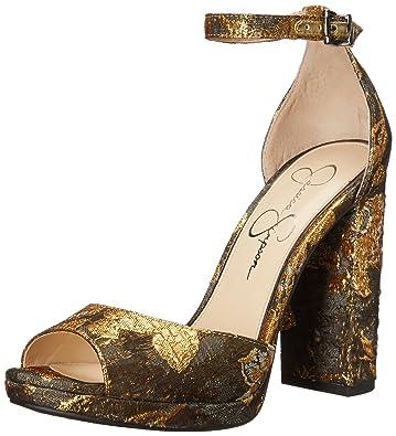 9a490b58dc Amazon.com | Jessica Simpson Women's Jenee Pump | Heeled Sandals