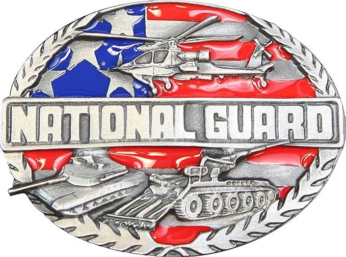 Amazon Us National Guard Belt Buckle Sports Outdoors