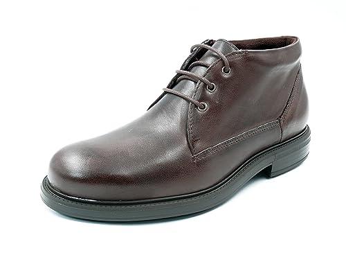 eb04eac50 Bota con cordones PITILLOS – Piel disponible en colores negro y marrón -  4693 - 1n