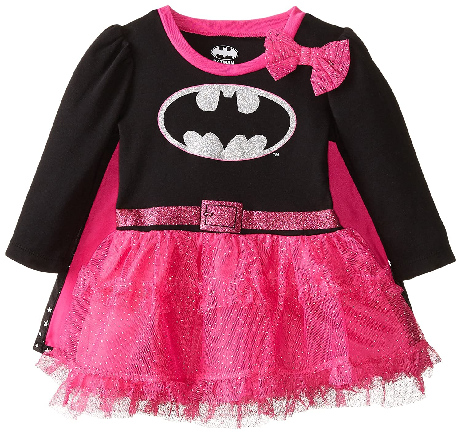 Warner Brothers Baby Baby Girls Batgirl Tulle Layer Dress with Cape