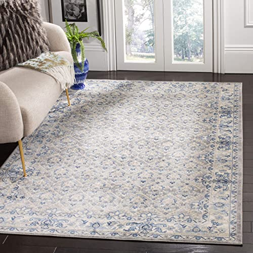 Safavieh Brentwood Collection BNT869G Area Rug, 11 x 15 , Light Grey Blue