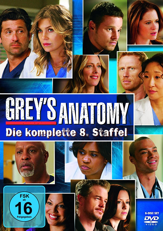 Greys Anatomy Season 8 Dvd Amazon Dvd Blu Ray