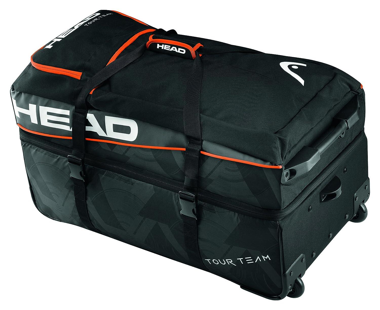 HEAD Tour Team Travel Bag, Black, 68 x 40 x 20 cm HEADF|#HEAD 283527BKWH