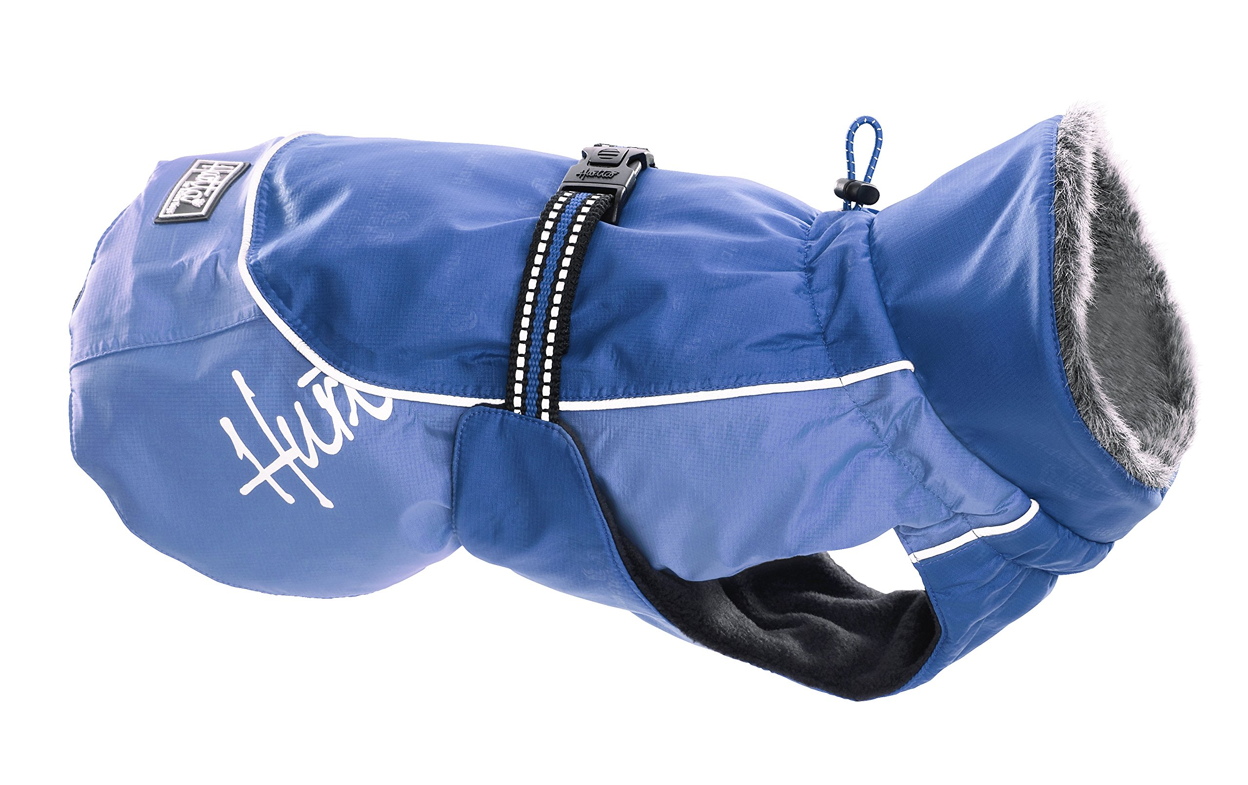 Hurtta Pet Collection 16-Inch Winter Jacket, Blue