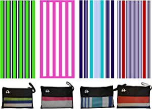 Elite Trend Microfiber Beach Towel for Travel - Oversized XL 78x35,72x72,63x31,71x31Inch Quick Drying, Lightweight, Fast Dry Towels, Sand Free