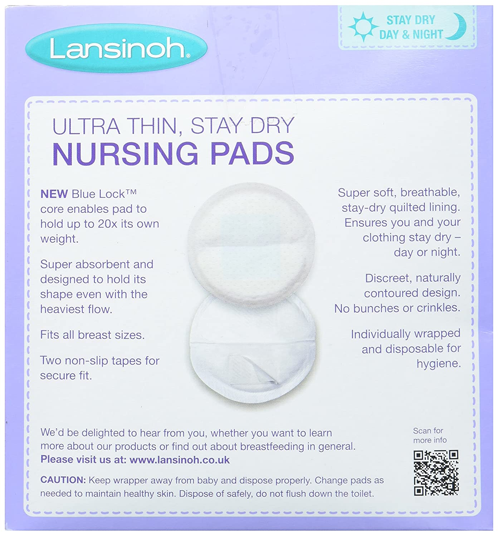 f5790f46fb474 Amazon.com  Lansinoh Nursing Pads Stay Dry 60 Each  Lansinoh  Health    Personal Care