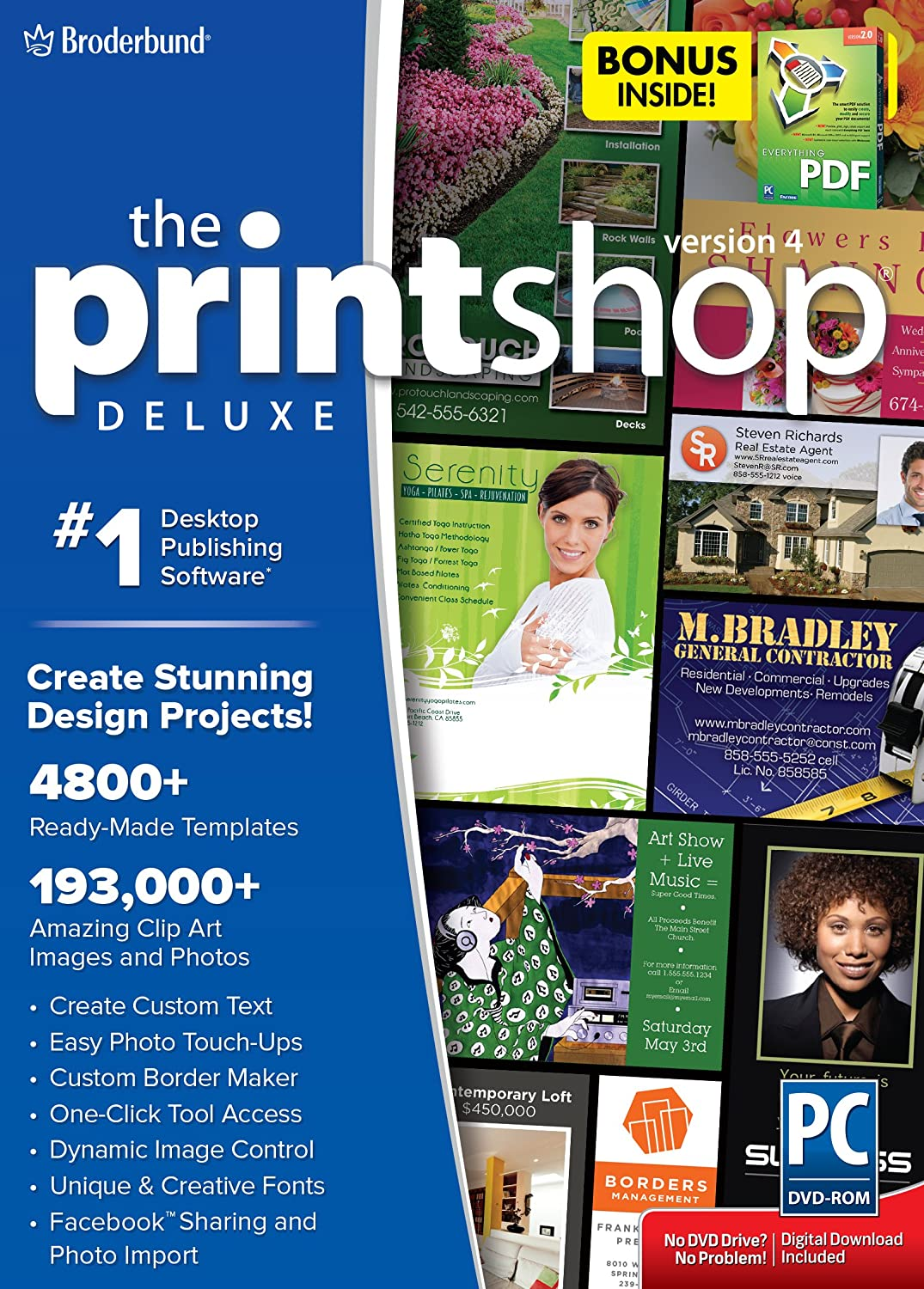 Encore The Print Shop Deluxe V4 with Bonus Everything PDF