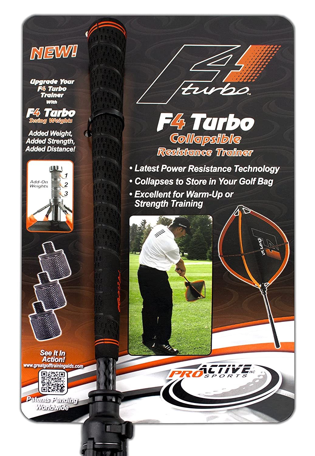 ProActive Sports F4 Turbo Swing Trainer by Pro Active ...