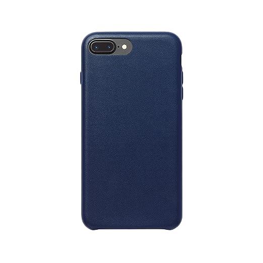 103 opinioni per AmazonBasics- Custodia in PU Sottile per iPhone 7 Plus, Blu Marino