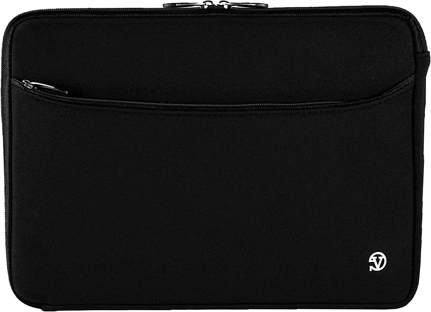 Jet Black Protective 17 inch Laptop Sleeve Carrying Bag Fit for Acer Aspire 5, 7, E, E1, ES, V Nitro, Black Edition, TravelMate P2 17.3inch
