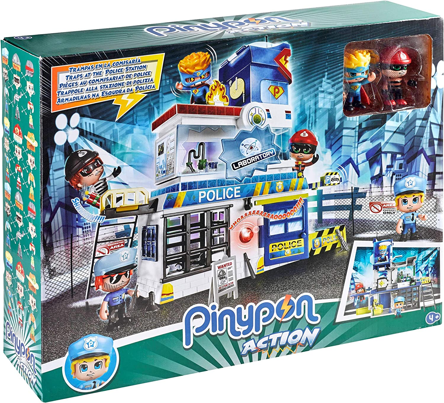 Pinypon/ Famous 700014493 /Traps in The Police Station Multicoloured