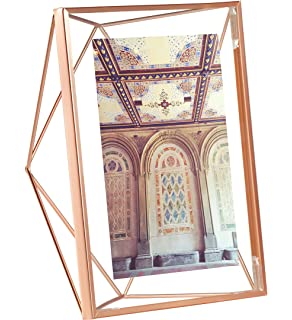 umbra prisma picture frame 5 by 7 inch copper
