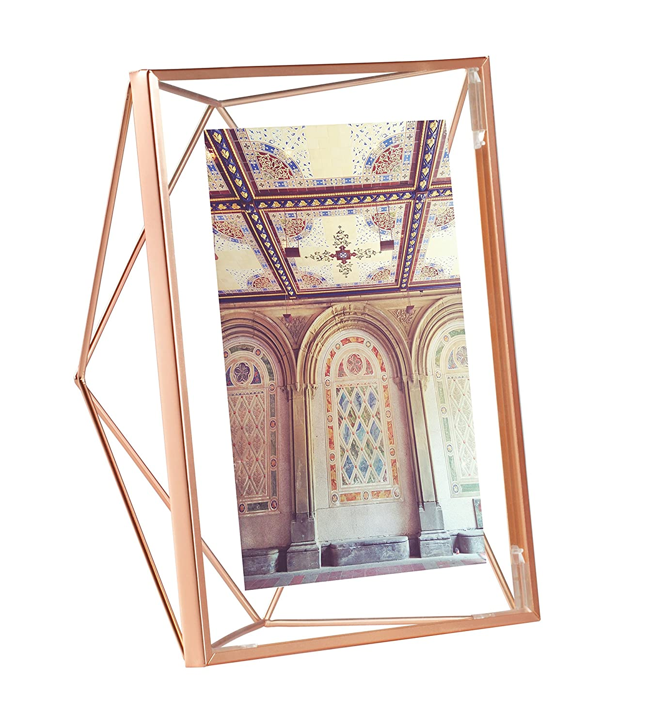 Amazon umbra prisma picture frame 5 by 7 inch copper jeuxipadfo Gallery