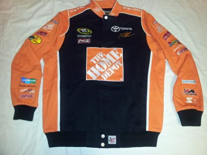 82baf240d Amazon.com : New! Chase Authentics Tony Stewart #20 Home Depot Twill ...