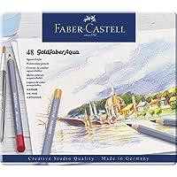Lápis de Cor Aquarelável Goldfaber Aqua 48 Cores, Faber-Castell