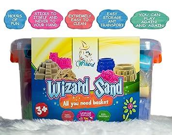 La Arena Cinética Wizard Sand 2kg: Amazon.es: Juguetes y juegos