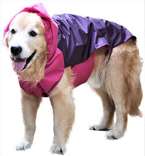 Doxters Slip On Dog Raincoat Easy Wear Magic Cloak Size 32 For