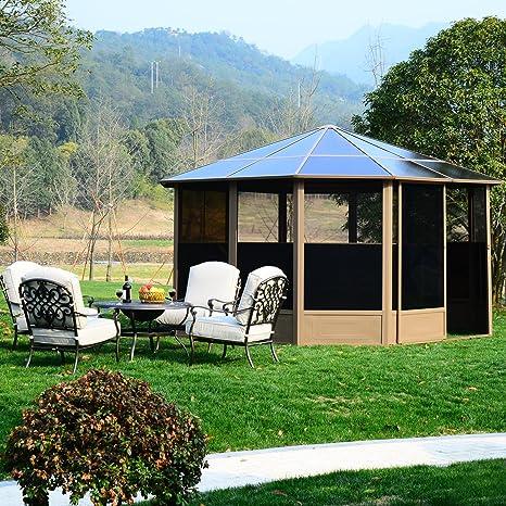 Outsunny-Aluminio jardín casa hogar jardín Carpa carpa (tienda ...