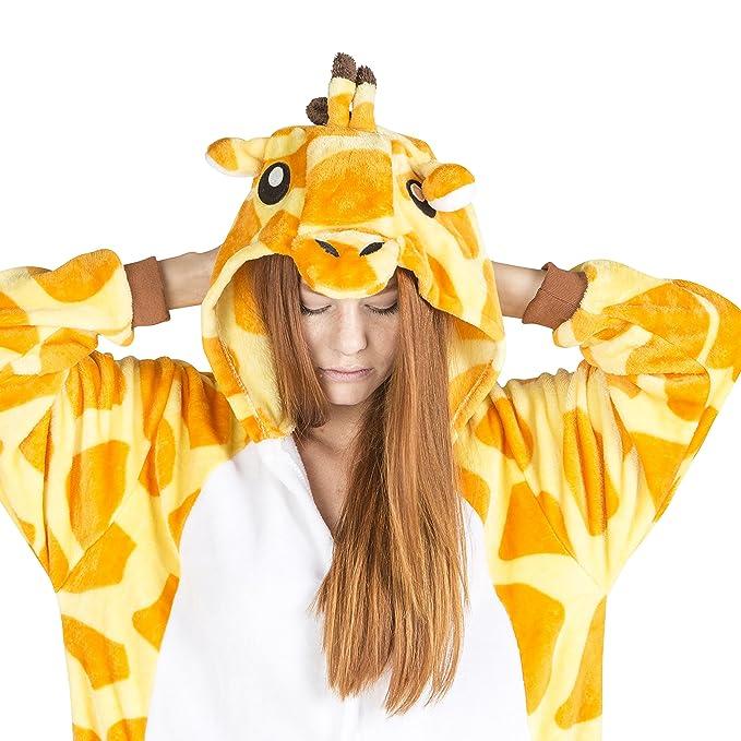 Juxy Couture Unisex Onesie Giraffe Costume for Adults Large  sc 1 st  Amazon.com & Amazon.com: Juxy Couture Unisex Onesie Giraffe Costume for Adults ...